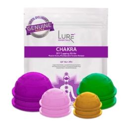 CHAKRA Cupping Therapy Set - 8 Cups