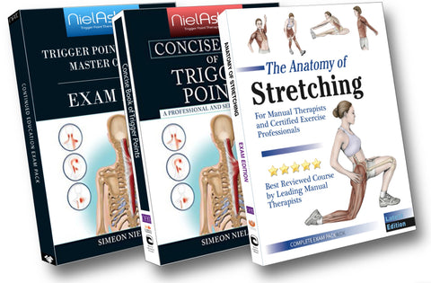 NAT Trigger Point Master Course + Anatomy of Stretching Master Course (12 CEU's)