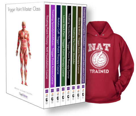Trigger Point Therapy - NAT Master Collection (20.5 CEU's) + Free Hoodie