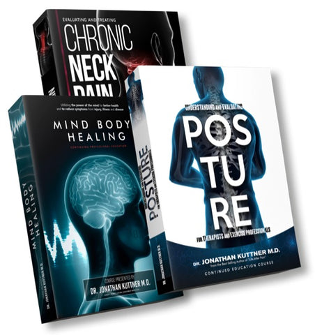 Chronic Neck Pain + Understanding and Evaluating Posture + Mind Body Healing Value Pack