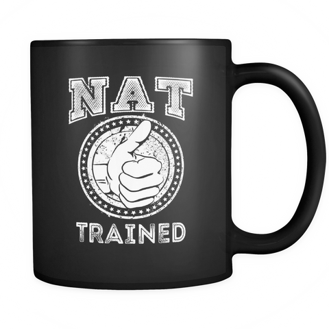 NAT Trained Ceramic Mug (Classic Black)