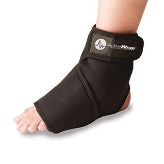 Ankle & Foot -  Ice/Heat Wrap by ActiveWrap® + Free NAT Rehab Guide®