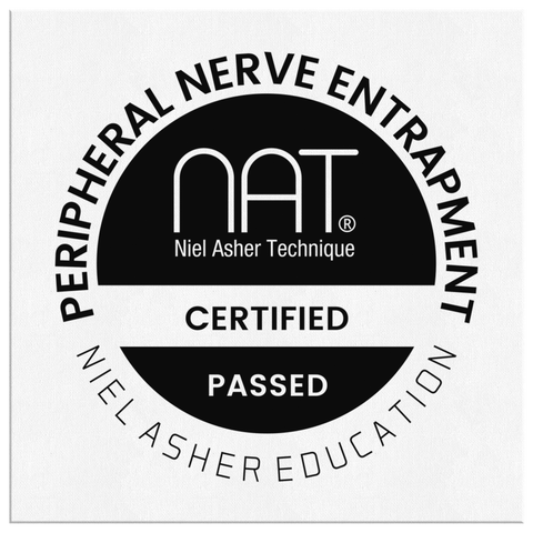 Peripheral Nerve Entrapment - NAT Canvas Wall Plaque