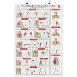 Trigger Point Wall Poster - The Shoulder