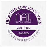 Treating Lower Back Pain Course  - Wall Canvas