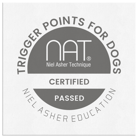 Trigger Point Therapy for Dogs Course - Wall Canvas