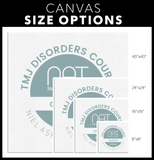 TMJ Disorders Course - Wall Canvas