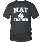 NAT Trained (White Print)