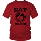 NAT Trained T-Shirt (Black Print)