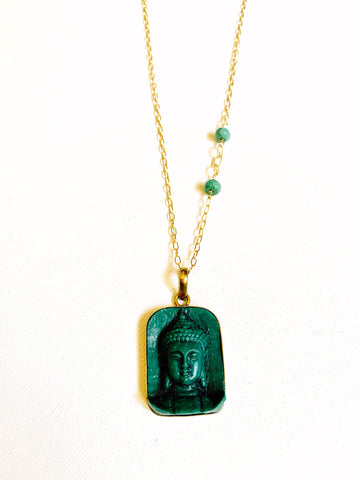 Carved Buddha Necklace