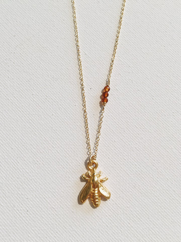 Little Bumblebee Necklace