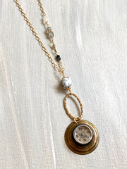 Vintage Compass Necklace