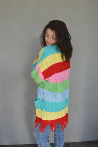 Fashion Playground Striped Cardi
