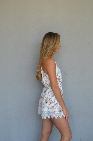 Wide Open Spaces Crochet Romper