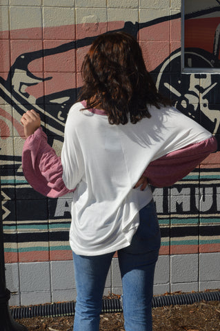Perfect Posture Bubble Sleeve Top