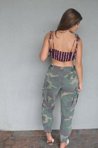 Got Your Attention Camo Joggers