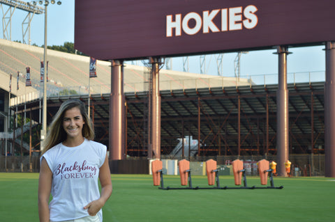 Blacksburg Forever Tee in White