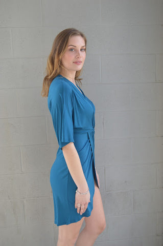 Heavenly Hues Wrap Dress