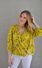 Let Love Bloom Floral Top