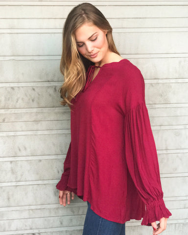 Better with Wine Tunic