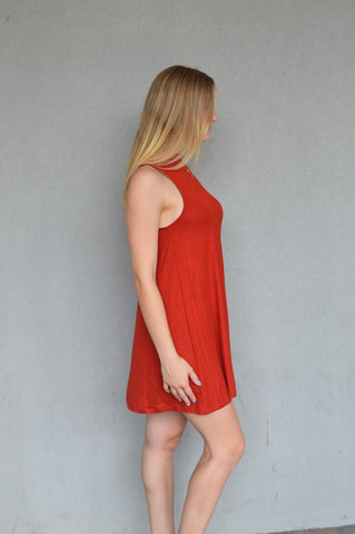 Comfort is Key Swing Dress
