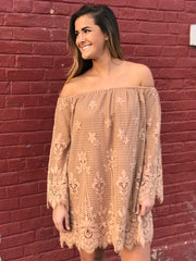 Uptown Hustle Lace Dress