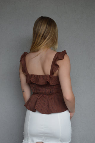 Style to Cher Peplum Top