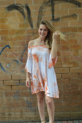Tie Breaker Dyed Dress