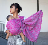 Damask Pink/Grey (Ring Sling)