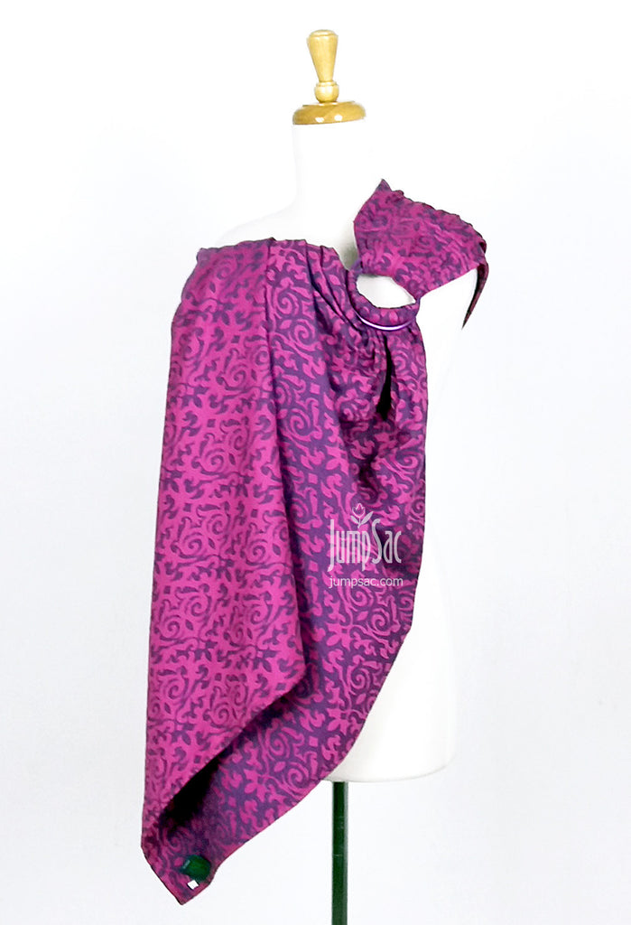 Damask Pink/Navy (Ring Sling)