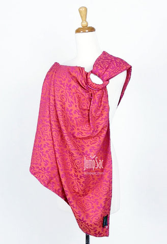 Damask Pink/Orange (Ring Sling)