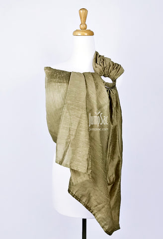 Dusty Gold Raw Silk (Ring Sling)