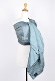 Icy Blue Raw Silk (Ring Sling)