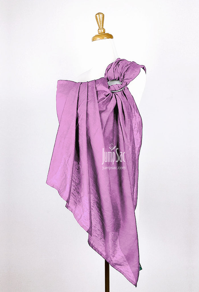 Lavender Raw Silk (Ring Sling)