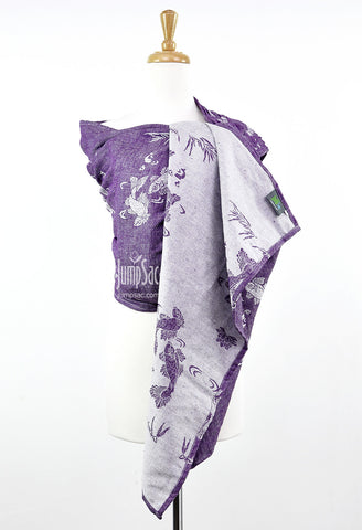 Sakana Koi in Autumn Purple (Reverse) (Ring Sling)