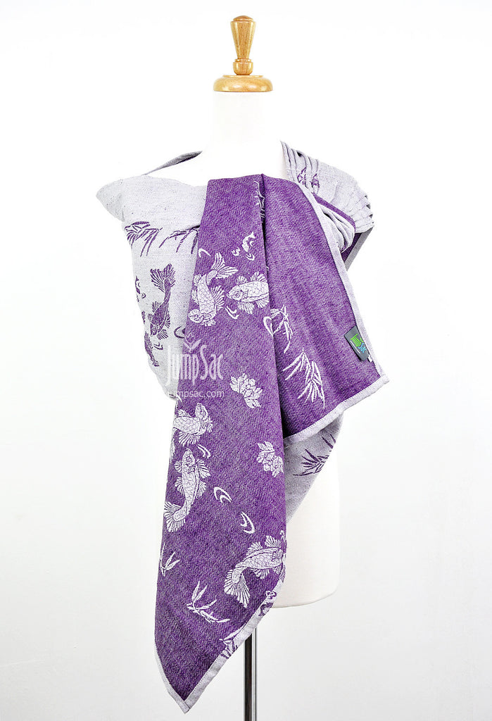 Sakana Koi in Autumn Purple (Ring Sling)