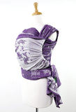Sakana Koi in Autumn Purple (Woven Wrap)