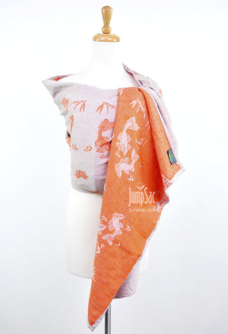 Sakana Koi in Muted Orange (Ring Sling)