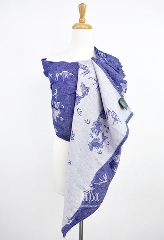 Sakana Koi in Patriot Blue (Reverse) (Ring Sling)