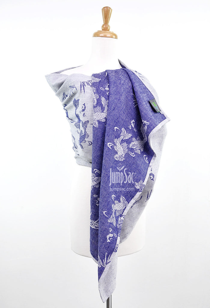 Sakana Koi in Patriot Blue (Ring Sling)