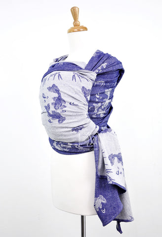 Sakana Koi in Patriot Blue (Woven Wrap)