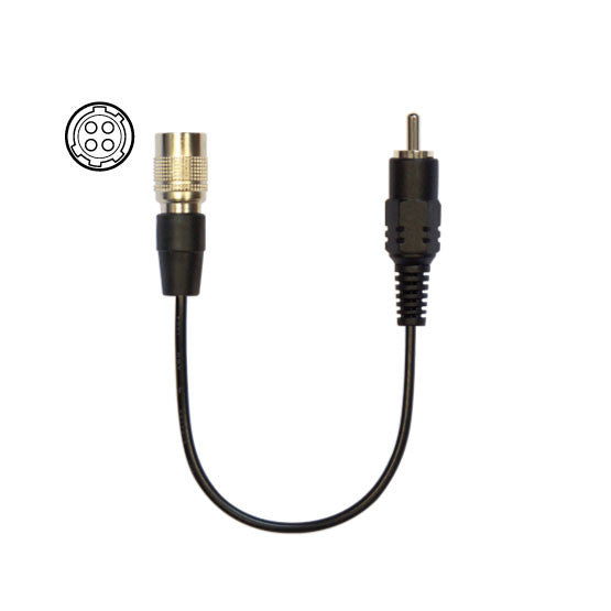 Cable with 4-pin Hirose connector 2 (AudioTechnica)