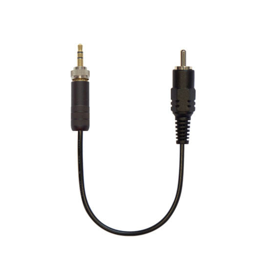 Cable with 3.5mm (1/8in) connector (Sony)
