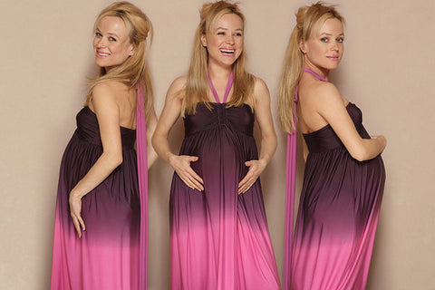 Maternity Karen Maxi Dress Triplet