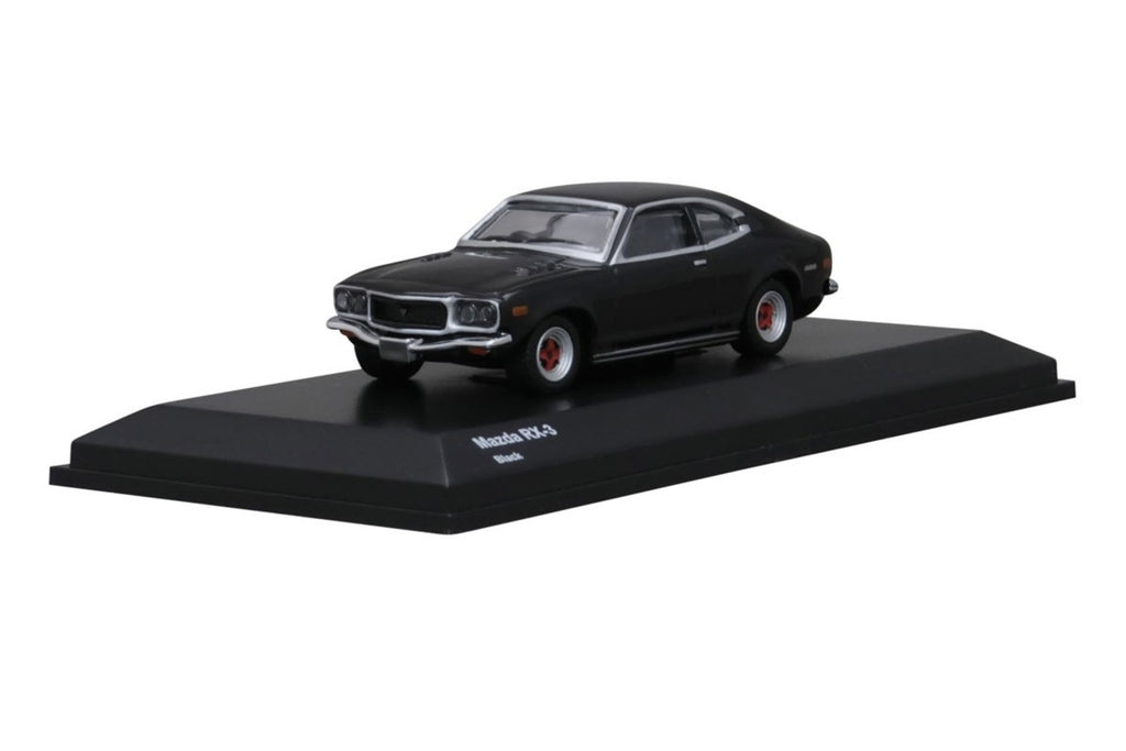 Kyosho 1/64 Mazda RX-3 (Savanna) Black