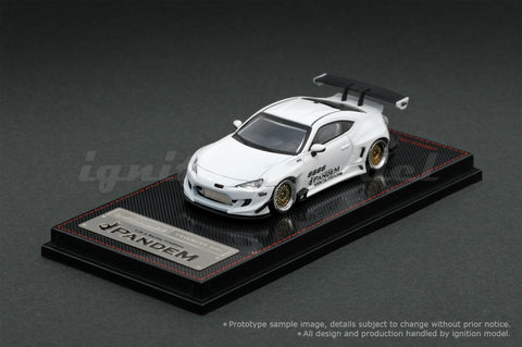 Ignition Model 1/64 PANDEM TOYOTA 86 V3 White