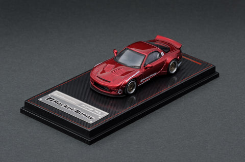 Ignition Model 1/64 Rocket Bunny RX-7 (FD3S) Red Metallic