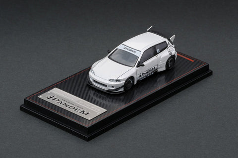 Ignition Model 1/64 PANDEM CIVIC (EG6) White