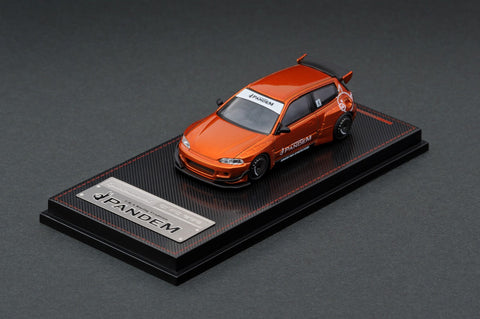 Ignition Model 1/64 PANDEM CIVIC (EG6) Orange Metallic