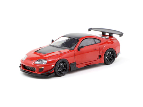 Ignition Model 1/64 Toyota Supra JZA80 RZ Red